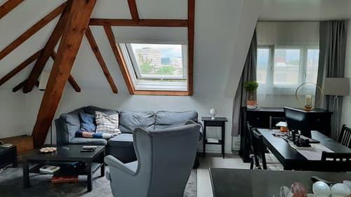 Dachwohnung mitten in Zürich-Altstetten