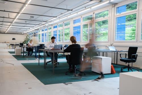 Coworking Space in Industriehalle - www.werkhallen.site