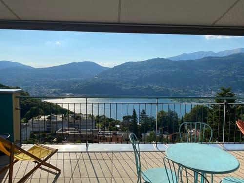 Attico Duplex con spettacolare vista lago/montagne (1)