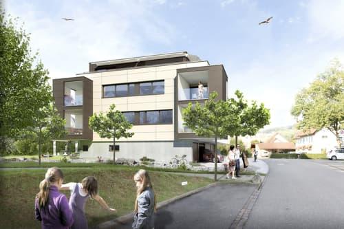IM HERZEN VON FRICK - Neubau 5 Wohnungen - Baustart erfolgt! (1)