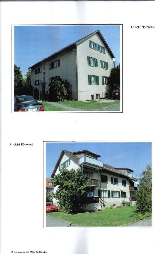 Zentral gelegene ruhige neu renovierte gemütliche Dachwohnung mit Balkon und Aussicht (1)