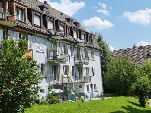 Sonnige 1-Zimmerwohnung mit Balkon nahe Bahnhof Wipkingen (1)