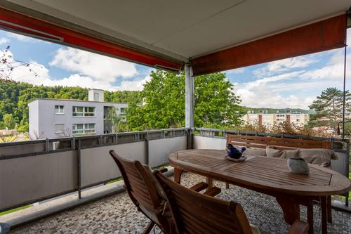 5.5 Zimmerwohnung auf 155 Quadratmeter mit Weitsicht