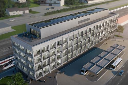 Erstbezug von hochwertigen Verkaufsflächen mitten im neuen Intercity Bahnhof Altdorf (1)