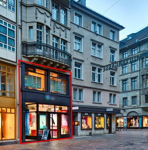 110m2 Retailfläche an bester Lage in St. Gallen