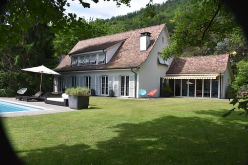 Sehr schönes Landhaus mit toller Aussicht, grossem Garten, Pool und viel Privatsphäre (1)
