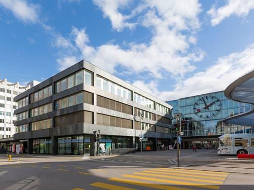 Attraktive Gewerberäumlichkeiten direkt am Bahnhof Aarau (1)