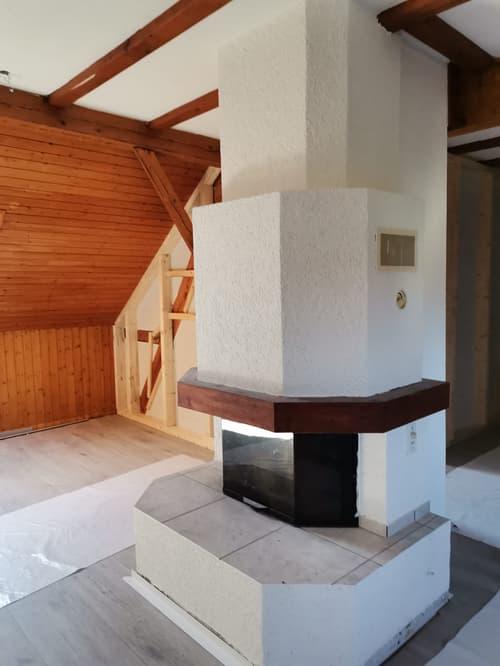 1. Zimmer Dachwohnung