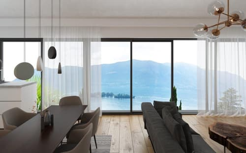Neubau Villa in Ronco sopra Ascona (1)