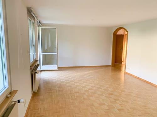 Neuwertige 3.5 Zimmer Wohnung im OG mit Balkon & Garten (1)
