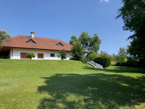 Villa d'exception rénovée, 650m de la Suisse (1)