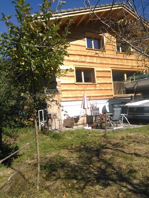 Obertoggenburg: Blockhaus (4.5 zi) mit Einliegerwohnung (2,5 zi)