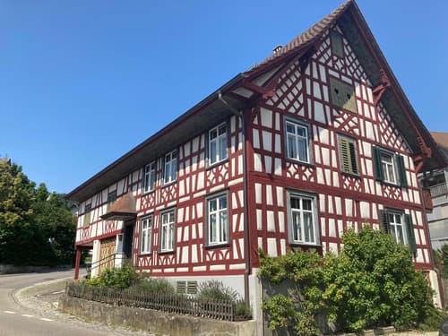 Schönes Riegelhaus mit Scheune (ausbaubar) (1)