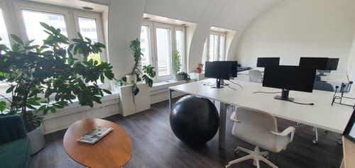 Modernes Büro möbiliert *all inclusive* / Inkl. Reinigung & Küchenmitbenutzung (1)
