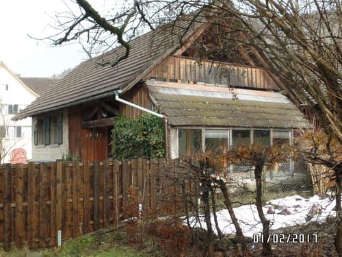 Atelierhaus mit Garten zum Wohnen oder Arbeiten