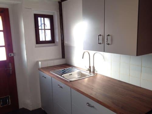Kürzlich renovierte und sonnige Wohnung mit Umschwung