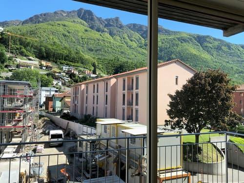 Bellissimo appartamento con vista nel nucleo di Giubiasco