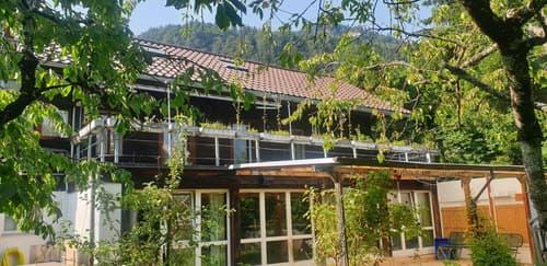 Seltenes Baugrundstück mit Haus am Thunersee in Unterseen/Interlaken (1)