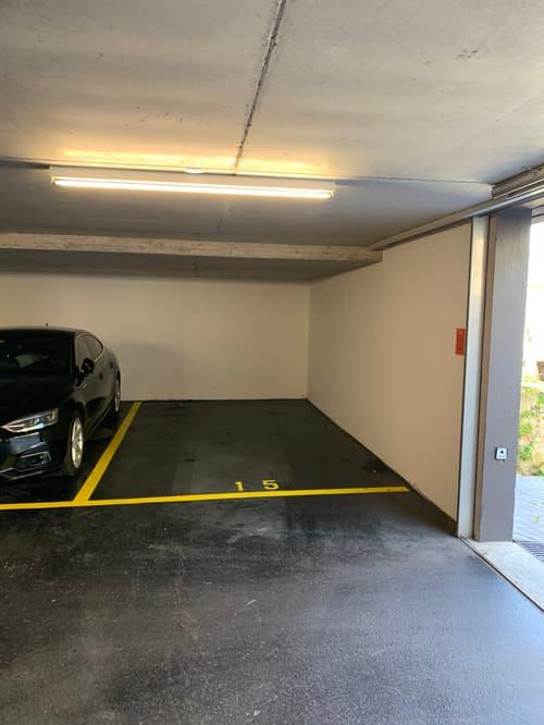 Rent an underground parking slot in 1006 Lausanne