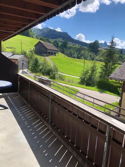 Ruhig gelegene Wohnung in Oberiberg