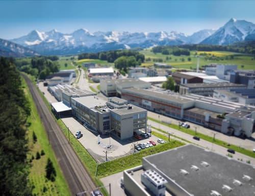 Büroräumlichkeiten 476 m2 und Lager-/Produktionsfläche 714 m2 im Businesspark Gotthard 3 (1)