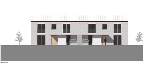 Neubau Doppel-EFH in Hedingen mit grandioser Aussicht (1)
