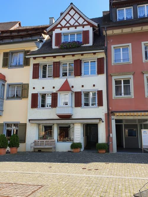 Grosse Wohn-/Geschäftsliegenschaft im Herzen der Altstadt Stein am Rhein (1)