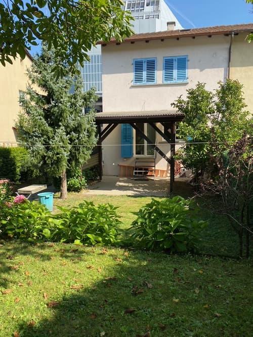Doppeleinfamilienhaus in Schlieren mit Garten (1)