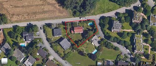 Grundstück/Bauland 1076 an der Pfaffenrainstrasse 40 in Bottmingen BL