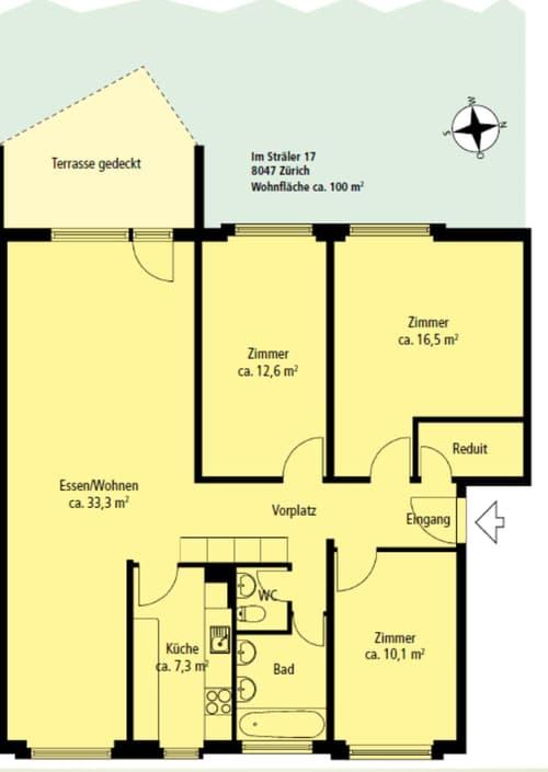 4.5 Zi-Wohnung in Zürich-Albisrieden (1)