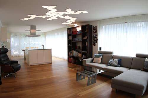 Grosse, helle, ruhige und verkehrsgünstige Wohnung in Zürich (1)