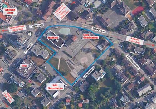 """Entwicklungsareal """"Leepünt"""" in Dübendorf - Ausschreibung Baurechtsvergabe"""