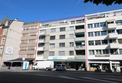 Vollvermietetes Mehrfamilienhaus mit zwei Ladenflächen im Matthäusquartier (1)