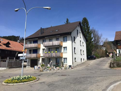 3,5 Zimmer Maisonette- Dachwohnung mit besonderem Charm in Adetswil (1)