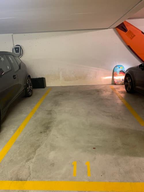 Indoor Parking Garage in Rüschlikon