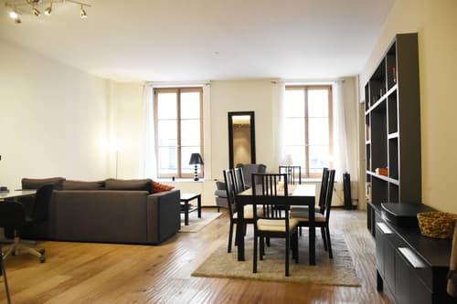 Appartement meublé en vieille ville de Genève (1)