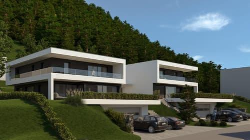 """«NEUBAU """"Exklusive Einfamilienhäuser"""" an bester Lage in Wikon» (1)"""