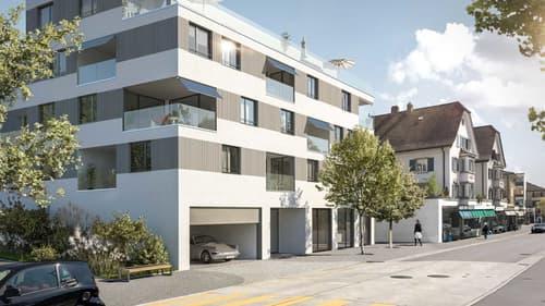Freundliche helle Neubauwohnung mitten im Zentrum Wallisellen (1)