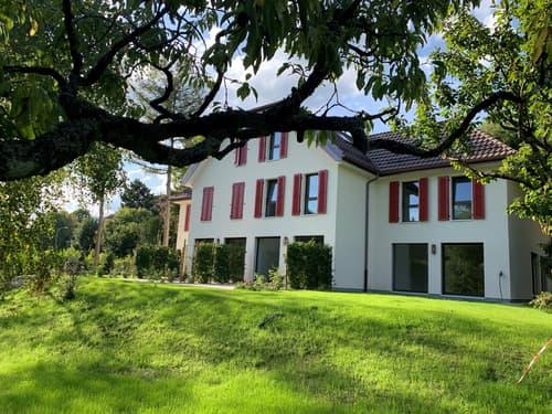 A louer 4 magnifiques villas contiguës neuves sur 3 étages avec terrasse et jardin (1)