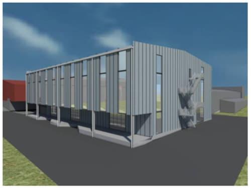 Neubau Gewerbe-, Produktions- oder Lagerflächen (1)