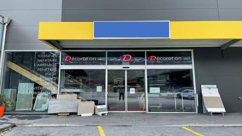 Centre commercial à Conthey