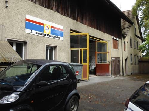 Autogarage/ Werkstatt/Lackiererei in Hünikon