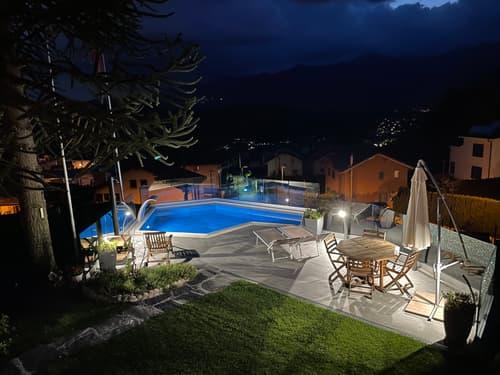 Vendesi Villa a Villa Luganese vista Lago con ascensore (1)