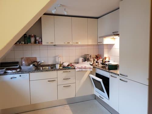 4.5 Zimmer Altbau-Dachwohnung in Schwyz (1)