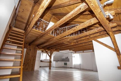 Maisonette Dachwohnung in Lenzburger Altstadt