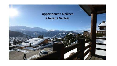 Appartement 4 pièces (meublé) à louer à Verbier (1)