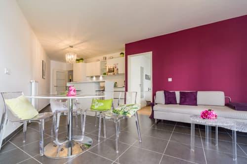 Möbliertes Wohnobjekt in Paris (1)