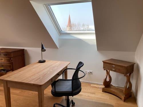 Grosszügige möblierte Vintage Wohnung an ruhiger und zentraler Lage / bright spacious penthouse
