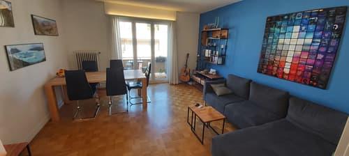 Ruhige helle 3 Zimmer-Wohnung nähe Bahnhof SBB (Nebenstrasse) (1)