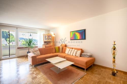 Gemütliche 3.5-Zimmer Wohnung an schöner Lage